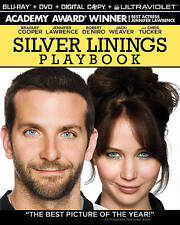 Silver Linings Playbook Blu-ray Disc, With Movie Money