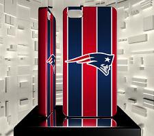 Coque rigide pour iPhone SE New England Patriots NFL Team 02