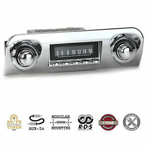 1959-60 Chevrolet Chevy Car RetroSound Laguna Radio AM/FM AUX RetroRadio Stereo