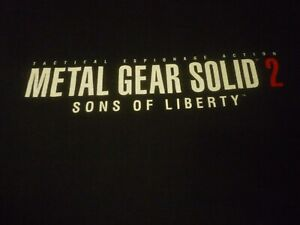 Metal Gear Solid 2 Vintage Shirt - Very Good Condition!!!