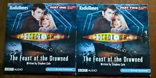 "TWO  DOCTOR WHO  ""  THE FEAST OF THE DROWNED  PARTS 1 &  2   ""  AUDIO CD's"
