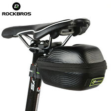 RockBros Leather Bicycle Saddle Bag Saddlebags MTB Road Bike Seat Bag Waterproof