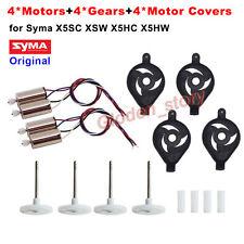 Original CW CCW Motor Engine+Cover+Gear Wheel Syma X5SC X5SW X5HC HW Spare Parts