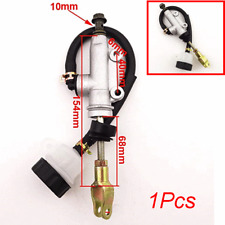 Alu Motorcycle Rear Foot Master Cylinder Pump Quad ATV Hydraulic with Reservoir