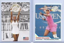 """2"" SERENA WILLIAMS & VENUS WILLIAMS NET PRO SPORTS ILLUSTRATED ROOKIE LOT!"