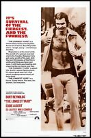 The Longest Yard 1974 Movie Poster Canvas Wall Art Print 70s Film Burt Reynolds