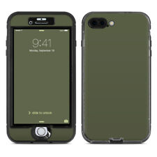 Skin for LifeProof NUUD iPhone 7 Plus - Solid Olive Drab - Sticker Decal