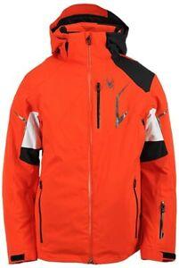 Spyder Leader Mens Ski Snowboard Jacket Insulated Winter Snow Coat 20K RRP£450
