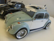 Kamtec Tamiya repro M-Chassis VW Beetle Cal Look 1:10 Lexan Body