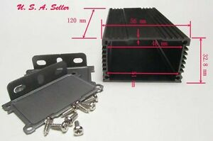 Aluminum Project Box Enclosure Case #241 Electronic DIY Case.