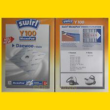 2 Pakete SWIRL Y 100 MicroPor Staubsaugerbeutel Y100 - noch 10 Beutel