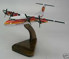 DHC-7 Golden West Airlines Airplane Wood Model FreeShip