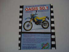 advertising Pubblicità 1987 MOTO FANTIC OASIS 50.1
