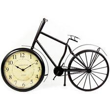 50CM Reloj de Bicicleta de metal de estilo vintage y retro decoración del hogar Ornamento De Oficina Mesa Nuevo