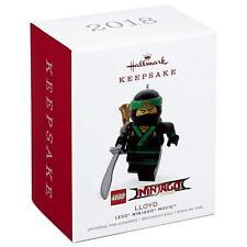 Hallmark,20218, Keepsake, Ornament, LEGO, Ninjago  Movie, Lloyd, New!