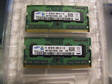 2x Samsung M471B5773DH0CH9 (PC3-10600 DDR3-1333 DDR3 SDRAM 1333 MHz) = 4GB