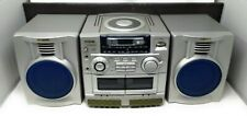 Aiwa Cadw235 3 Piece Cd/Double Cassette Boombox Radio