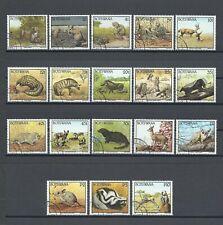 More details for botswana 1992 sg 738/55 used cat £45