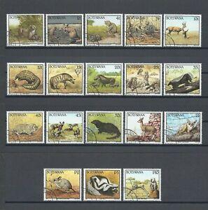 BOTSWANA 1992 SG 738/55 USED Cat £45