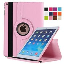 For Apple iPad 10.2 7th Generation 360 Leather Rotating Stand Flip Cover Case US
