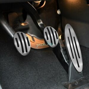 MT Clutch Brake Gas Pedal Cover For Mini Cooper R56 R57 R60 F54 F55 F56 F57 F60