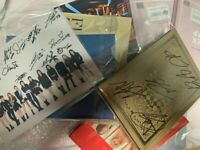 KPOP IDOL BOYS, GIRLS GROUP PROMO ALBUM Autographed ALL MEMBER Signed #0224