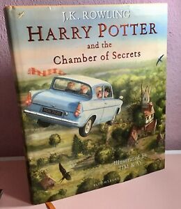 Harry Potter & the Chamber of Secrets J K Rowling Illustrated Edition (Jim Kay)