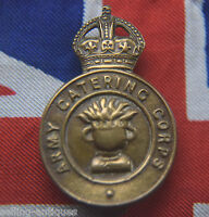 THE ARMY CATERING CORPS ORIGINAL CAP BADGE