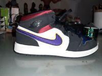 Nike Air Jordan 1 Mid SE PS 'Rivals'  BQ6932-005  Youth Size 1.5Y