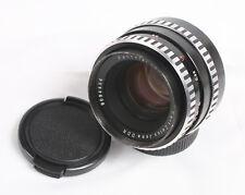 Carl Zeiss Jena Pancolar Electric 50mm f/1.8 Zebra M42 Mount Lens 4454