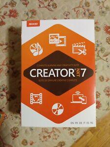 Roxio Creator NXT 7 CD/DVD Burning & Creativity Suite PC Disc/Digital Download