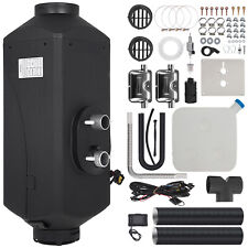 le 5KW 12V Air diesel Heater 2X Silencer For Motor-homes Trailer Trucks Boats ok