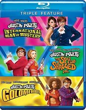 Austin Powers Collection (Blu-ray Disc, 2012, 3-Disc Set)