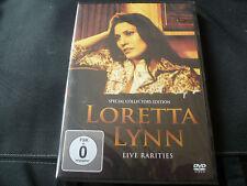 Loretta Lynn - Live Rarities (NEW DVD) ME AND BOBBY MCGEE COAL MINERS DAUGHTER