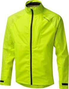 Altura Nightvision Storm Waterproof Mens Cycling Jacket - Yellow