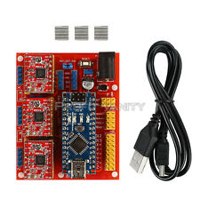 Arduino CNC Shield V4 + Nano V3.0 + 3 xA4988 Reprap Stepper Drivers Kit
