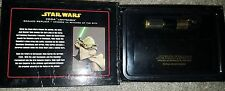 Master Replicas .45 Scale Revenge of the Sith Yoda Lightsaber - Gold NRFB