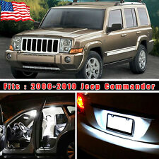 14PCS Super White LED Lights Interior Package Kit For 2006-2010 Jeep Commander