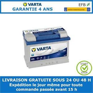 Varta N70 EFB Start Stop Batterie de Voiture 12V 70Ah E45 278x175x190mm