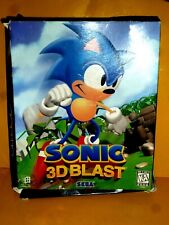 Sonic 3D Blast - THE BIG BOX ONLY 10X8 ONLY NO GAME
