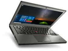 Lenovo X240 ThinkPad Laptop Notebook 256GB Solid State SSD 8GB Ram Windows 10 PC