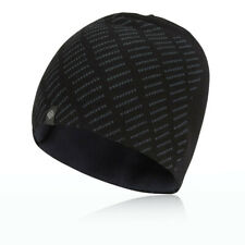 Ronhill Thermal Running Classic Beanie Hat  Black/Charcoal - One Size *NEW*