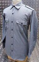 Genuine Scottish Regiment Army Barrack & Dress Shirt Grey All Sizes - NEW