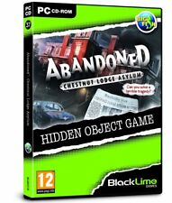 * PC NEW SEALED Game * ABANDONED Chestnut Lodge Asylum * Hidden Object Game