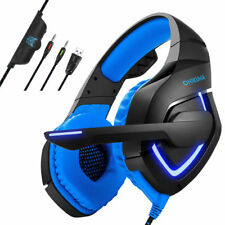 Gaming Headset Music Headphone Headsets Mic For PS3 PS4 Xbox 360E one Laptop PC