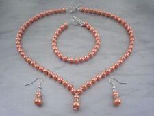 Korallen Modeschmuckstücke mit Perle