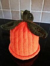 Hand Knitted Pumpkin Halloween 🎃 Baby 3-6 months Hat New
