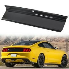 For 2015-2020 Ford Mustang GT Gloss Black Rear Trunk Decklid Panel Trim Cover