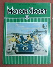 Motor Sport March 1969 Ford Capri 1600GT, Daytona, Monte Carlo, VW411L, Vitesse