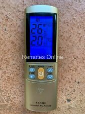 REPLACEMENT UNIVERSAL AIRWELL AIR CONDITIONER REMOTE CONTROL FULL FUNCTION